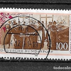 Sellos: ALEMANIA,RFA,1991,MICHEL 1521,USADOS. Lote 183030552