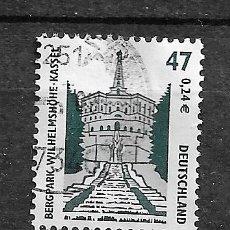 Sellos: ALEMANIA,RFA,2001,MONUMENTOS Y PAISAJES,MICHEL 2176,USADOS. Lote 183032496