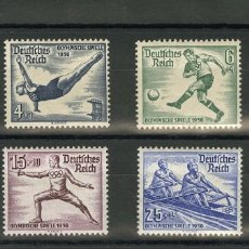 Sellos: ALEMANIA. MNH **YV 565/72. 1936. SERIE COMPLETA. MAGNIFICA. YVERT 2011: 135 EUROS. REF: 31839. Lote 183120077