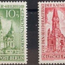 Sellos: ALEMANIA BERLÍN. MNH **YV 92/95. 1953. SERIE COMPLETA. MAGNIFICA. YVERT 2014: 30 EUROS. REF: 57670. Lote 183138392
