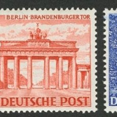 Sellos: ALEMANIA BERLÍN. MNH **28/46. 1949. SERIE COMPLETA. MAGNIFICA. YVERT 2011: 1.000 EUROS REF: WORLDWI. Lote 183165638
