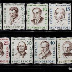 Sellos: BERLIN 144/51** - AÑO 1957 - PERSONALIDADES - BERLINESES CELEBRES. Lote 183829676