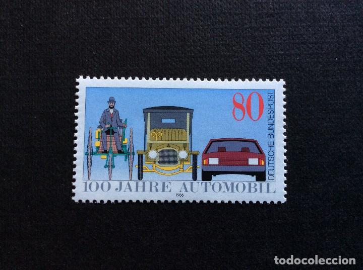 ALEMANIA FEDERAL Nº YVERT 1100*** AÑO 1986. CENTENARIO DEL AUTOMOVIL (Sellos - Extranjero - Europa - Alemania)