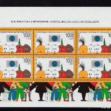 Sellos: ALEMANIA HB 20** - AÑO 1990 - EXPOSICION DE FILATELICA DE LA JUVENTUD, DUSSELDORF. Lote 184716403