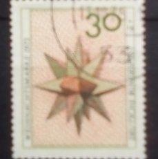 Sellos: ALEMANIA NAVIDAD SELLO USADO. Lote 185733196