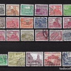 Sellos: ALEMANIA BERLIN 1949 MICHEL 42/60 SERIE COMPLETA - 17/12. Lote 185889468