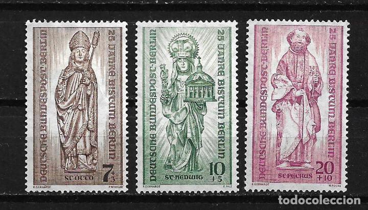ALEMANIA BERLIN 1955 MICHEL 134/136 SERIE COMPLETA * - 17/14 (Sellos - Extranjero - Europa - Alemania)