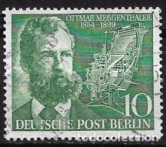 ALEMANIA BERLIN 1954 MICHEL 117 SERIE COMPLETA - 17/14 (Sellos - Extranjero - Europa - Alemania)