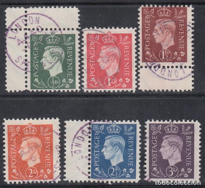 SELLOS DE PROPAGANDA ALEMANA PARA GRAN BRETAÑA, 1943-1945 MICHEL Nº 3 / 8 (Sellos - Extranjero - Europa - Alemania)