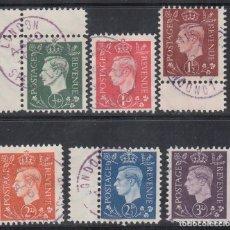 Sellos: SELLOS DE PROPAGANDA ALEMANA PARA GRAN BRETAÑA, 1943-1945 MICHEL Nº 3 / 8. Lote 186169178