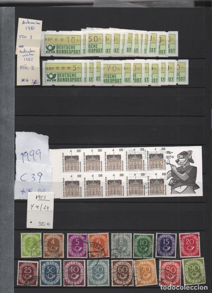 Sellos: RESTO COLECCION DE SELLOS DE R. FEDERAL ALEMANIA - Foto 4 - 186220247