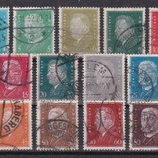 Sellos: ALEMANIA IMPERIO 1928-32 SERIE COMPLETA USADA YVERT Nº 401/414. Lote 189300445