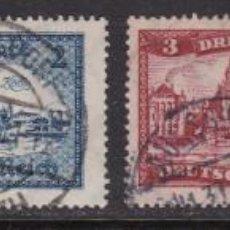 Sellos: ALEMANIA IMPERIO 1924 - SELLOS USADOS YVERT Nº 355/358 VALORES CLAVE DE LA SERIE. Lote 189303760