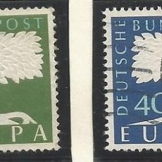 Sellos: ALEMANIA - FEDERAL - FRG - 1957 - SERIE EUROPA - MICHEL 268 + 69 - USADOS. Lote 189419618