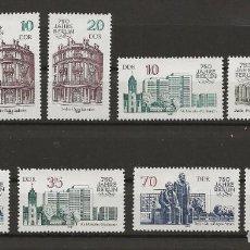 Sellos: R45/ ALEMANIA DDR 1987, 750 JAHRE BERLIN (II) MNH**. Lote 189500535