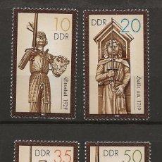 Sellos: R45/ ALEMANIA DDR 1987, MICHEL 3063/66 MNH**, HISTORISCHE DENKMALE. Lote 189501261