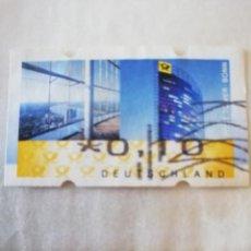 Francobolli: REPUBLICA FEDERAL ALEMANA YT: DE D18 AÑO 2008. Lote 190080365