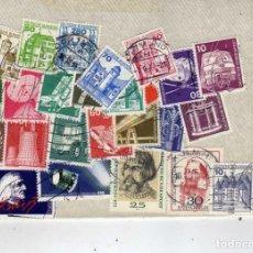 Sellos: LOTE DE 45 SELLOS USADOS, ALEMANIA. Lote 191396070