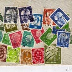 Sellos: LOTE DE 43 SELLOS USADOS, ALEMANIA. Lote 191396800