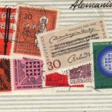 Sellos: LOTE DE 8 SELLOS USADOS, ALEMANIA. Lote 191397135