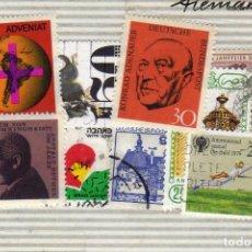 Sellos: LOTE DE 8 SELLOS USADOS, ALEMANIA. Lote 191397636