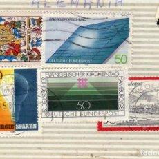 Sellos: LOTE DE 5 SELLOS USADOS, ALEMANIA. Lote 191398091
