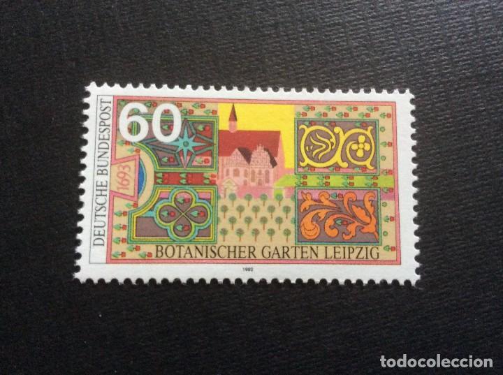 ALEMANIA FEDERAL Nº YVERT 1451*** AÑO 1992. JARDIN BOTANICO DE LEIPZIG (Sellos - Extranjero - Europa - Alemania)