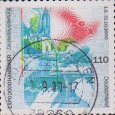 Sellos: SELLO ALEMANIA DEUTSCHLAND USADO FILATELIA CORREOS STAMP POST POSTAGE. Lote 192023031