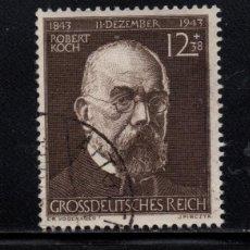 Francobolli: ALEMANIA IMPERIO 783 - AÑO 1944 - CENTENARIO DEL NACIMIENTO DEL DOCTOR ROBERT KOCH. Lote 193942565