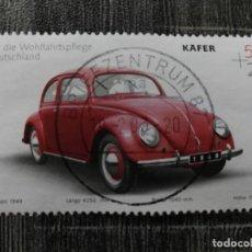 Sellos: ALEMANIA 2002 VW KÄFER (1949) MI:DE 2292 COCHES | INDUSTRIA DEL AUTOMÓVIL | VEHÍCULOS. Lote 194247985