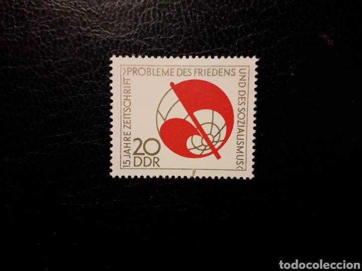 ALEMANIA ORIENTAL DDR. YVERT 1568 SERIE COMPLETA NUEVA ***. PERIODICO 'PAZ Y SOCIALISMO'. (Sellos - Extranjero - Europa - Alemania)