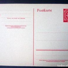 Sellos: ALEMANIA, 1946, BIZONA, ENTERO POSTAL, P955. Lote 194571592
