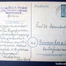 Sellos: ALEMANIA, 1946, BIZONA, ENTERO POSTAL, P953. Lote 194571673