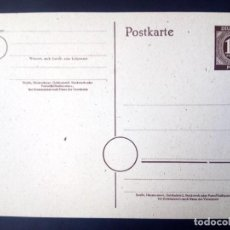 Sellos: ALEMANIA, 1946, BIZONA, ENTERO POSTAL, P952. Lote 194571721