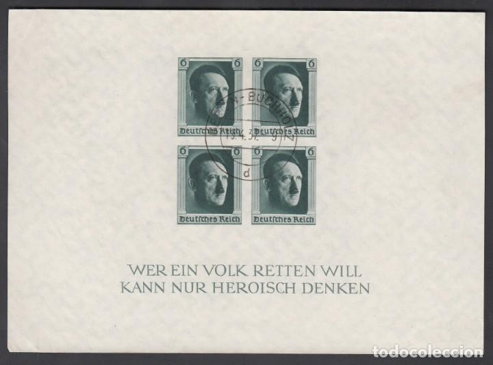 ALEMANIA IMPERIO, 1937 YVERT Nº 9, SIN DENTAR, (Sellos - Extranjero - Europa - Alemania)