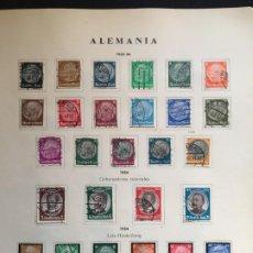 Sellos: ALEMANIA IMPERIO, COLECCIÓN DE SELLOS NUEVOS Y USADOS,. Lote 194710735