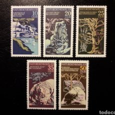 Sellos: ALEMANIA ORIENTAL DDR. YVERT 1879/83 SERIE COMPLETA NUEVA ***. CURIOSIDADES NATURALES.. Lote 194727668