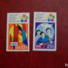 Sellos: /21.02/-ALEMANIA DEMOCRATICA-1973-SERIE COMPLETA Y&T 1527/8(**MNH)-SIN FIJASELLOS. Lote 194745822