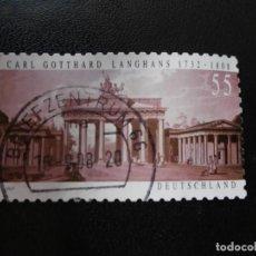 Sellos: ALEMANIA. 2007.. Lote 194745881