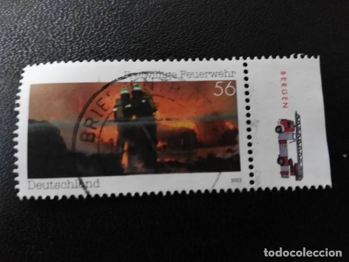 ALEMANIA 2002. VOLUNTEER FIRE DEPARTMENT. MI:DE 2275, SN:DE 2173, YT:DE 2103, (Sellos - Extranjero - Europa - Alemania)