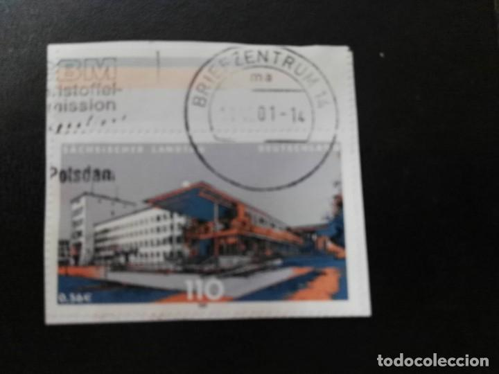 ALEMANIA 2001. STATE DIET OF OF SAXONY, DRESDEN. MI:DE 2172, SN:DE 2113, YT:DE 2005 (Sellos - Extranjero - Europa - Alemania)