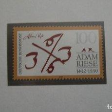 Sellos: /22.02/-ALEMANIA FEDERAL-1992-Y&T 1440 SERIE COMPLETA EN NUEVO SIN FIJASELLOS (**MNH). Lote 194909641
