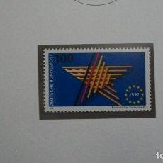 Sellos: /22.02/-ALEMANIA FEDERAL-1992-Y&T 1476 SERIE COMPLETA EN NUEVO SIN FIJASELLOS (**MNH). Lote 194910790