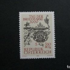 Sellos: /23.02/-AUSTRIA-1969-Y&T 1141-SERIE COMPLETA SIN FIJASELLOS(**MNH). Lote 194979547