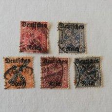 Francobolli: WURTTEMBERG AÑO 1920 YT 136-18-139-141 Y 142. Lote 195019426