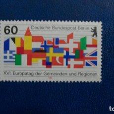 Sellos: /23.02/-BERLIN-1986-Y&T 716 SERIE COMPLETA SIN FIJASELLOS(**MNH). Lote 195050501