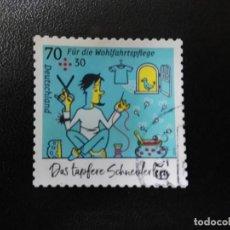 Sellos: ALEMANIA 2019. IN THE TAILOR'S SHOP. MI:DE 3438, SN:DE B1150, YT:DE 3216. Lote 195070728