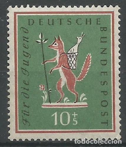 ALEMANIA FEDERAL - 1958 - MICHEL Nº 286 - SELLO PARA LOS JÓVENES - NUEVO CON GOMA (Sellos - Extranjero - Europa - Alemania)