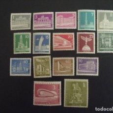 Sellos: ALEMANIA BERLIN Nº YVERT 125/35 A*** AÑO 1956-63.MONUMENTOS. Lote 195152956
