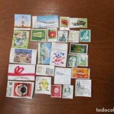 Sellos: LOTE 25 SELLOS TODOS DIFERENTES ALEMANIA. Lote 195199123